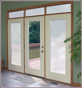 buy online 44058 eb8b7 Frosted Glass Privacy film - with Sandblasted/Dusted Effect